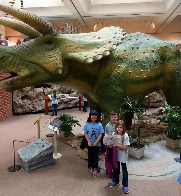 Field Trip with Dinosaurs