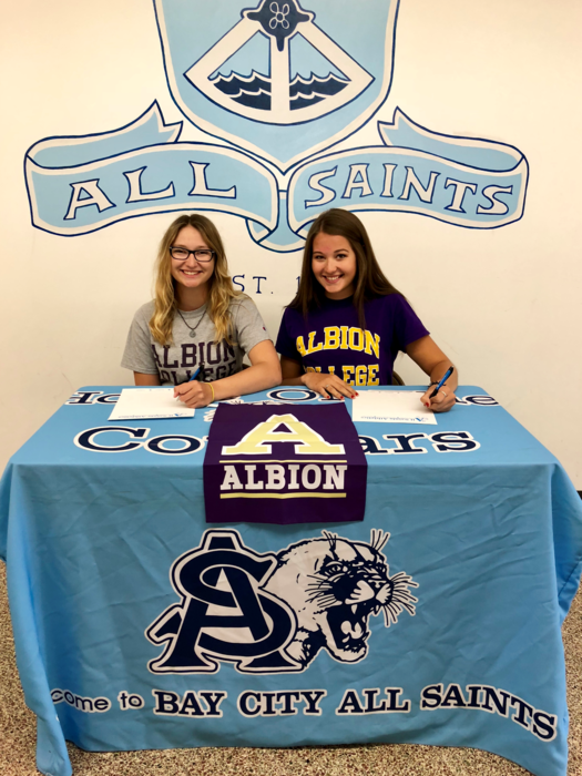 Albion College Signing