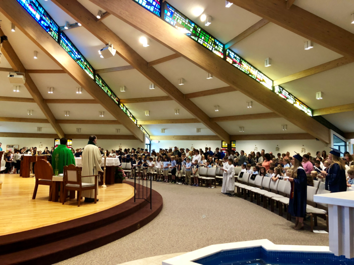 End of the School Year Mass 2018