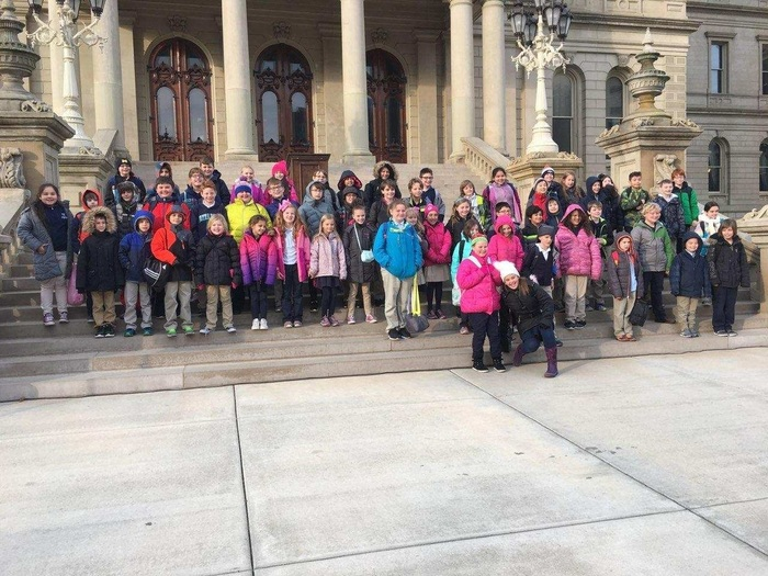 Third and fourth grade at the Capitol.