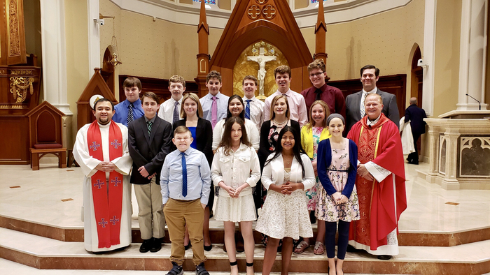 8th grade Celebration Mass 2019