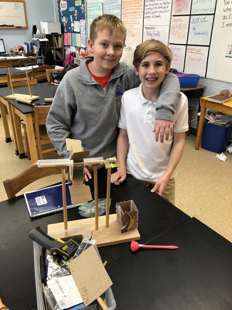 6th grade generator projects