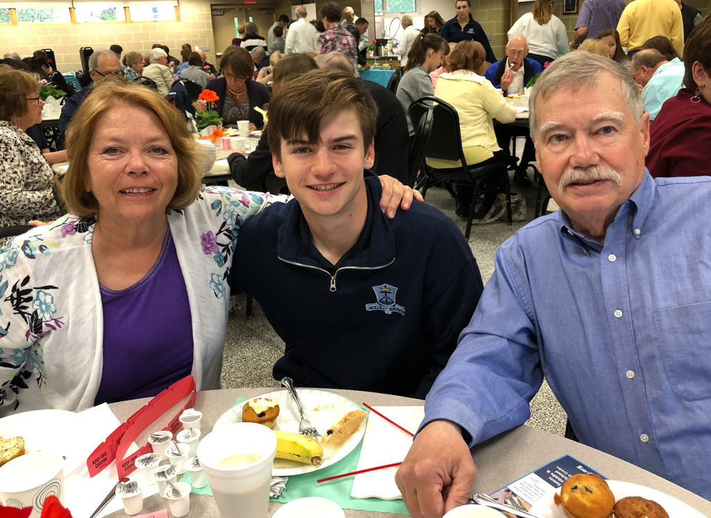 Student Council's annual Grandparents' Breakfast