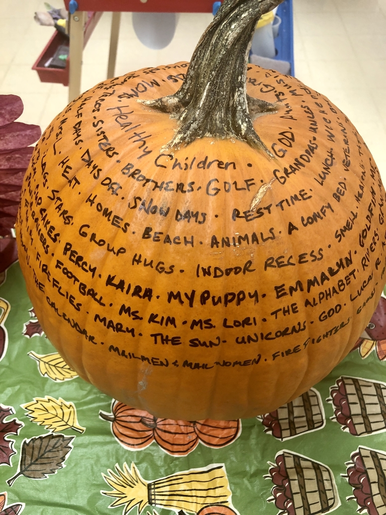 """Thankful Pumpkin"""