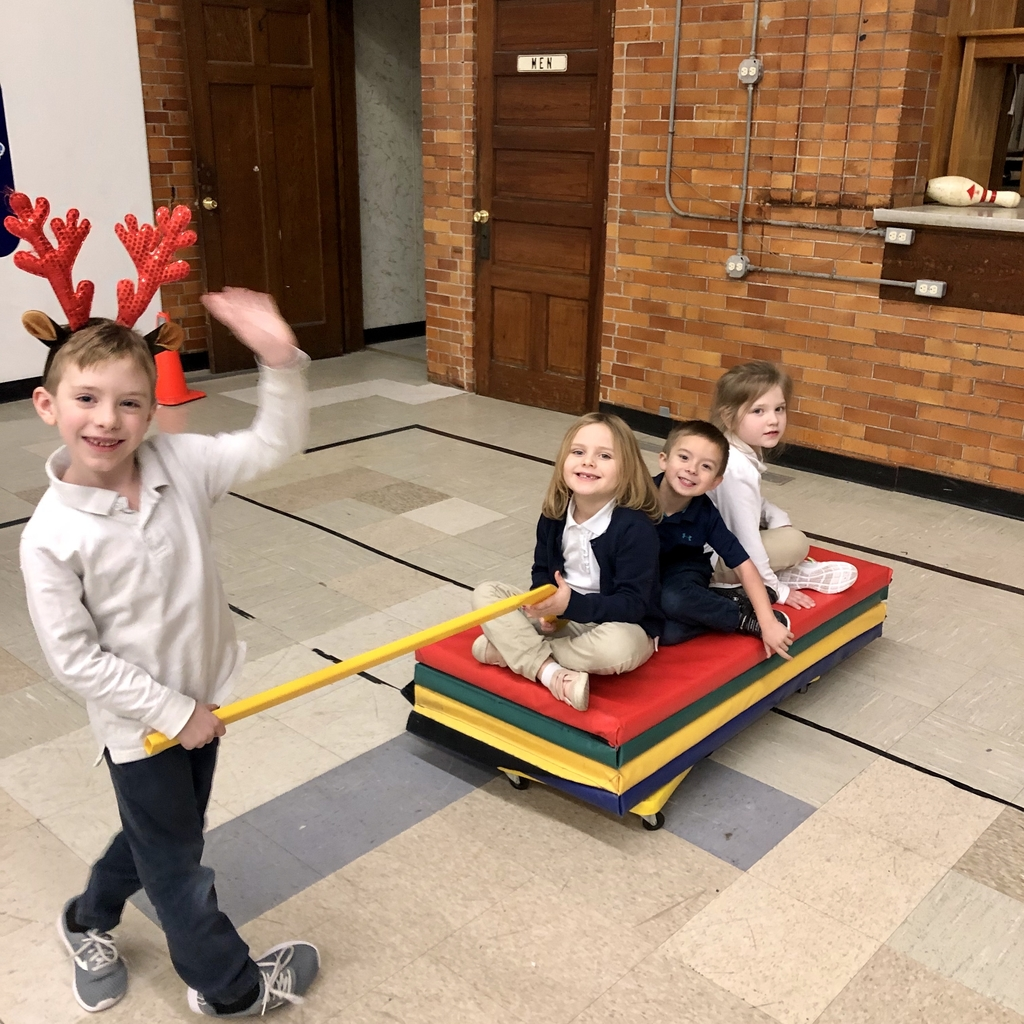 Christmas fun in PE